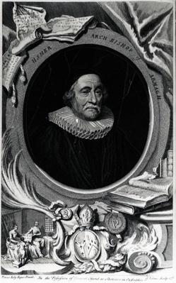 James Ussher, engraved by George Vertue, 1738
