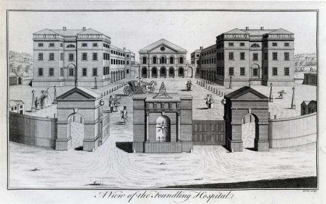 A View of the Foundling Hospital, 1756