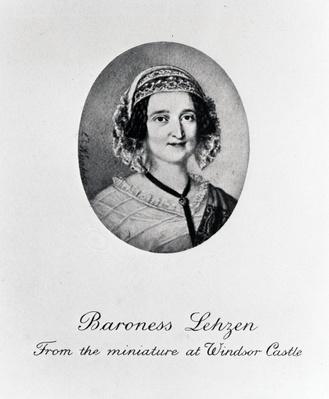 Baroness Louise Lehzen