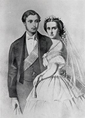 King Edward and Queen Alexandra at the time of their marriage