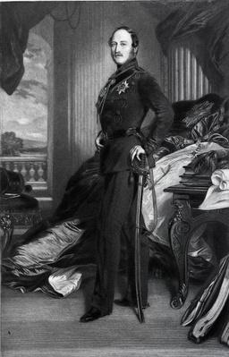 Prince Albert, after the painting of 1859