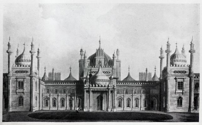 The West Front of the Brighton Pavilion