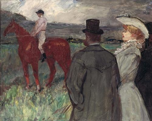 At the Racecourse, 1899