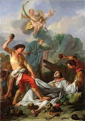 Martyrdom of St. Stephen, 1745