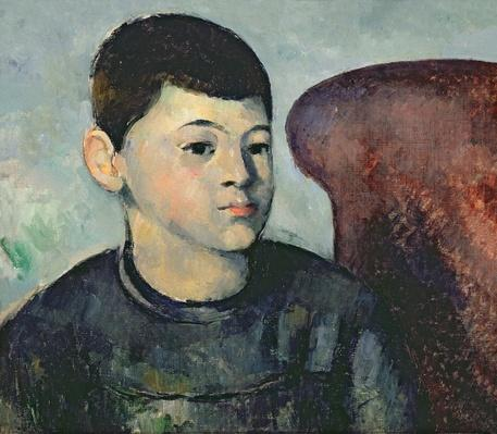 Portrait of the artist's son, 1881-82
