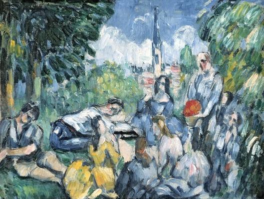 Dejeuner sur l'herbe, 1876-77