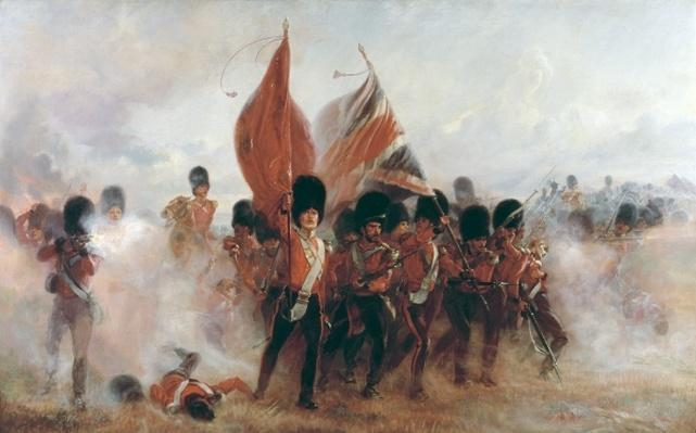 The Colours: advance of the Scots Guards at the Alma, 1899