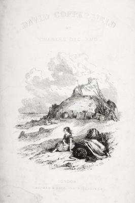 Title page illustration from 'David Copperfield' by Charles Dickens