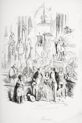 I'm Married, illustration from 'David Copperfield' by Charles Dickens