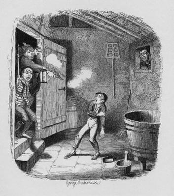 The Burglary, from 'The Adventures of Oliver Twist' by Charles Dickens