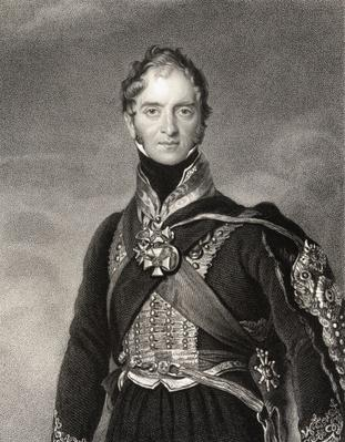 Henry William Paget, 1st Marquess of Anglesey, engraved by Samuel Freeman