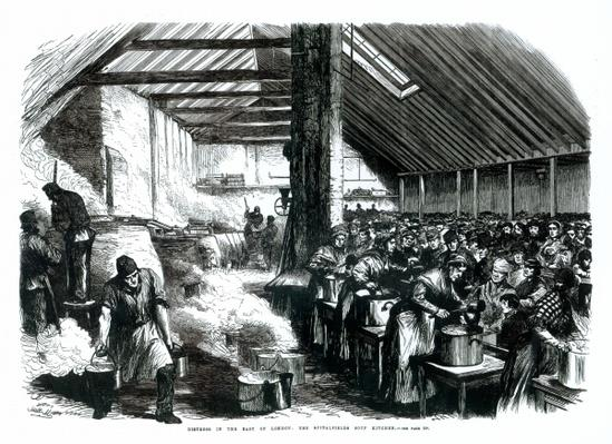 The Spitalfields Soup Kitchen, 1867