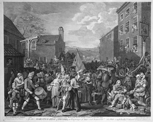 A Representation of the March of the Guards towards Scotland in the Year 1745, published 1750