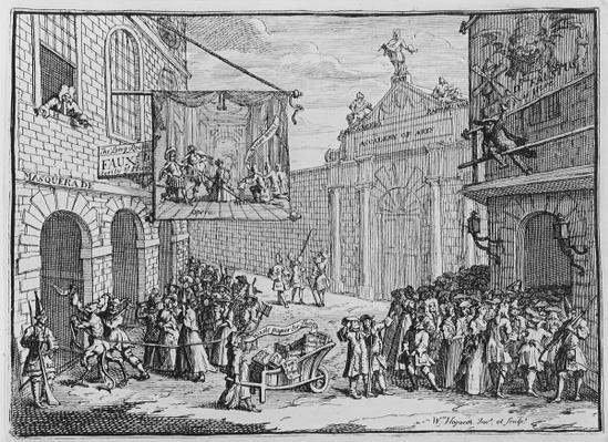 Masquerades and Operas, Burlington Gate, 1724