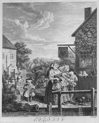 Times of the Day, Evening, 1738