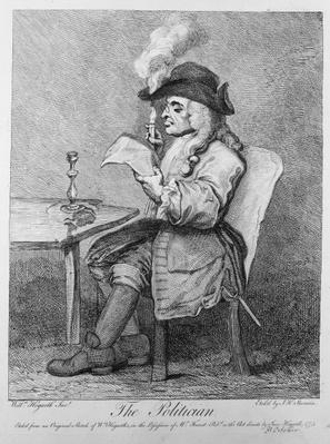 The Politician, etched by John Keyse Sherwin, 1775