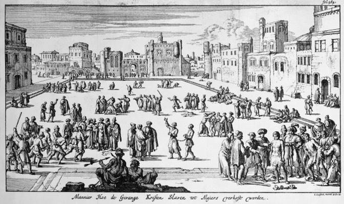 Slave Market in Algiers