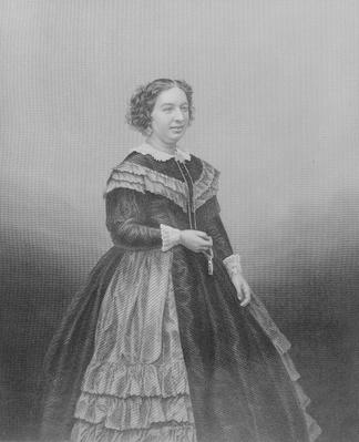 Miss Louisa Pyne, from 'The Drawing-Room Portrait Gallery of Emminent Personages', 1861