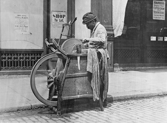 A London Knife Grinder, 1894