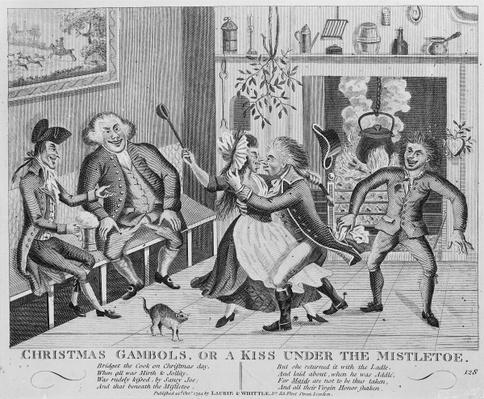 Christmas Gambols, or a Kiss Under the Mistletoe, 1794