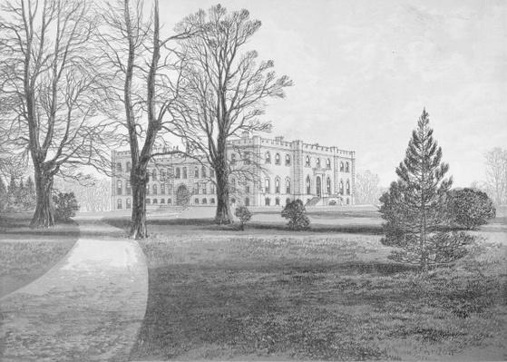 Kimbolton Castle, 1880