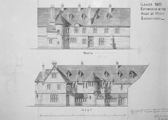Extension of the House of Mercy, Clewer