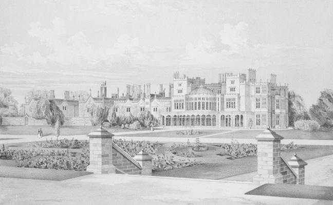 Brampton Park, Huntingdonshire, 1852