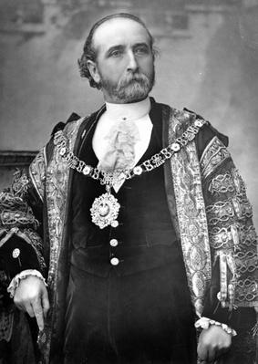 Sir James Whitehead, Lord Mayor of London, c.1888-9