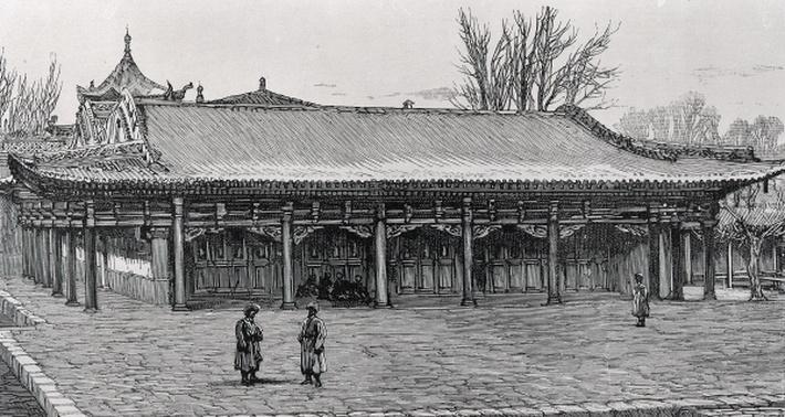 The Chief Taranchi Mosque in Kuldja
