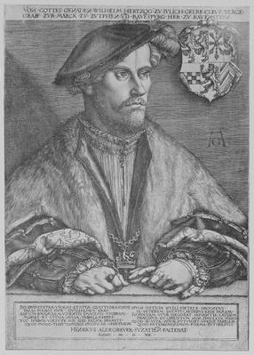 Duke Wilhelm V of Cleve, 1540