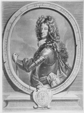 Maximilian II Emanuel, Elector of Bavaria, engraved by Cornelis Vermeulen