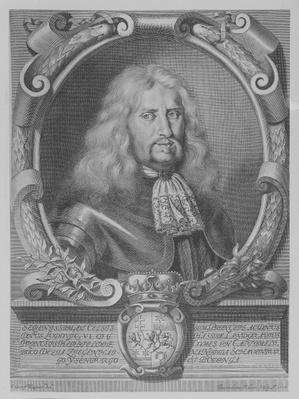 Ludwig VI, Landgrave of Hesse-Darmstadt, engraved by Bartholomaus Kilian II, 1678