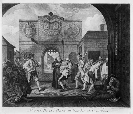 The Gate of Calais, or O The Roast Beef of Old England