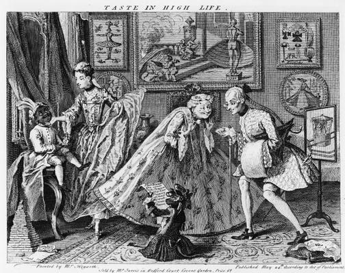 Taste in High Life, 1746