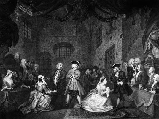 The Beggar's Opera, Scene III, Act XI, c.1728