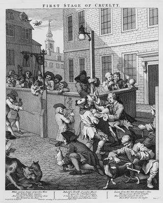 First Stage of Cruelty, 1751