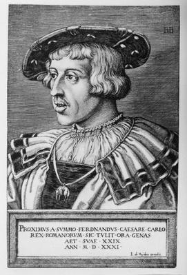 Portrait of Ferdinand I of Habsburg, 1531