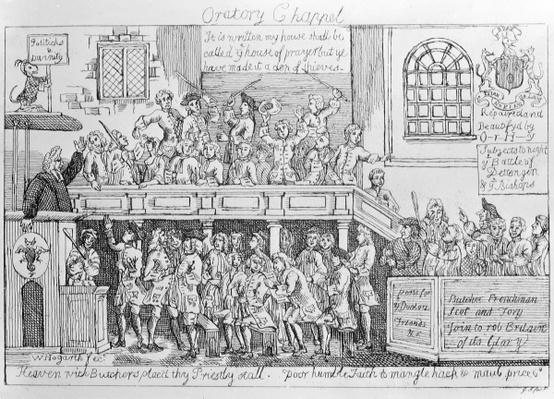 Oratory Chappel, c.1746
