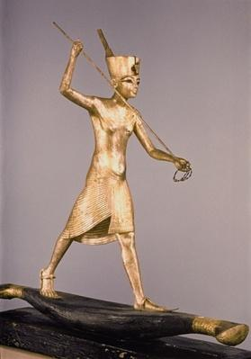 The Harpooner, from the Tomb of Tutankhamun