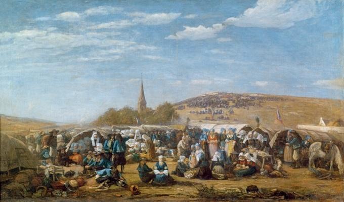 The Pardon of Sainte-Anne-La-Palud, Brittany, 1858