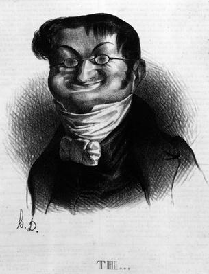 'Thi', caricature of Adolphe Thiers from 'Le Charivari', 2 June, 1833
