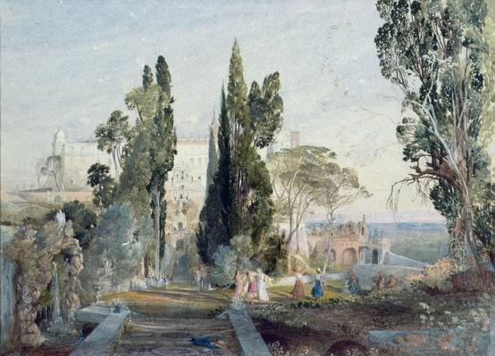 The Villa d'Este, 19th century