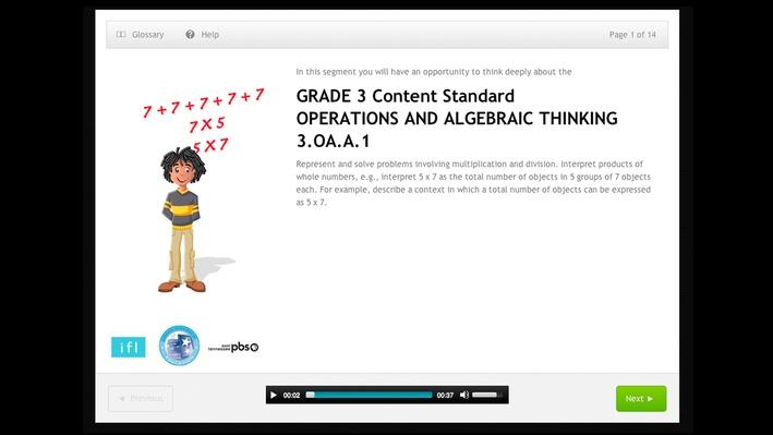 Operations and Algebraic Thinking - 3.OA.A.1
