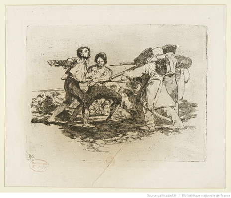 The Disasters of War, Sketch, 18th or 19th Century