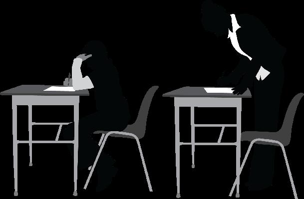 Teacher in Class | Clipart