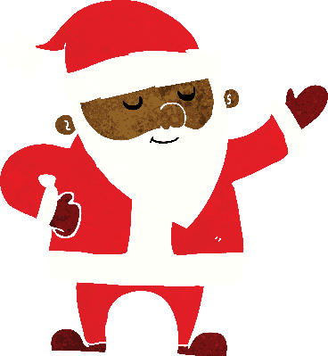 Cartoon Santa Claus (#1) | Clipart