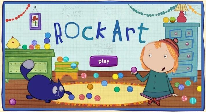 Rock Art | Peg + Cat
