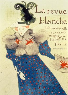 Cover of La Revue Blanche, 1895