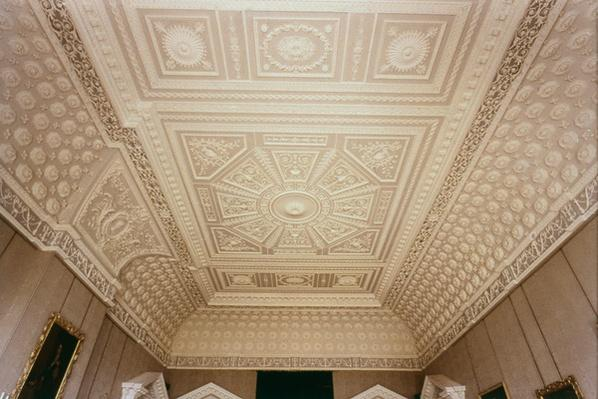 Saloon ceiling, c.1768