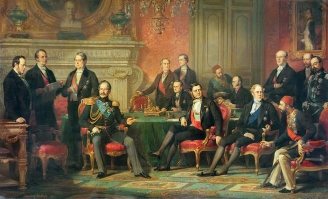 The Congress of Paris, 25 February to 30 March, 1856